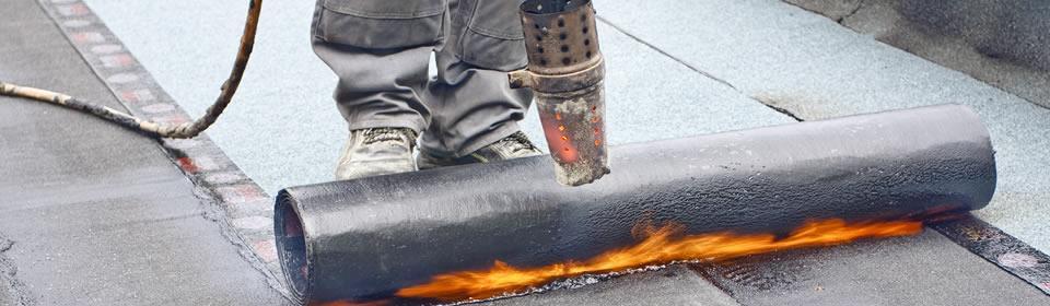 Bitumen dakbedekking Katwijk